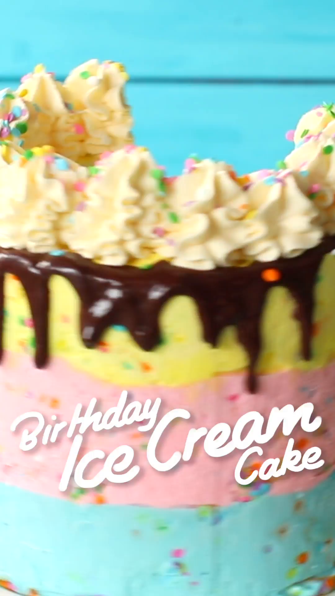 Ice Cream Birthday Cake The Scran Line